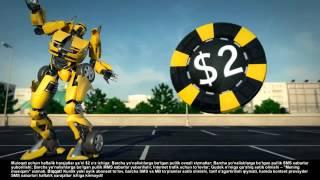Трансформеры! Новогодняя акция от Билайн. 13 Chevrolet Spark (Uzb)