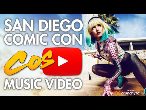 San Diego Comic Con (SDCC) – Cosplay Music Video 2017