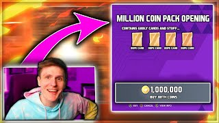 The 1 MILLION COIN Pack Opening... *CRAZY PULLS*- Madden 21 Ultimate Team