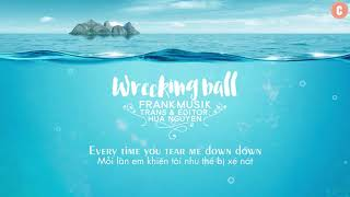 [Lyrics + Vietsub] Wrecking Ball - Frankmusik