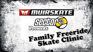 Sector 9 Family Freeride Slide Clinic | MuirSkate Longboard Shop