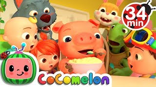 One Potato, Two Potatoes | +More Nursery Rhymes & Kids Songs - CoCoMelon