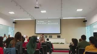 小話「神さま」落語inアゼルバイジャン