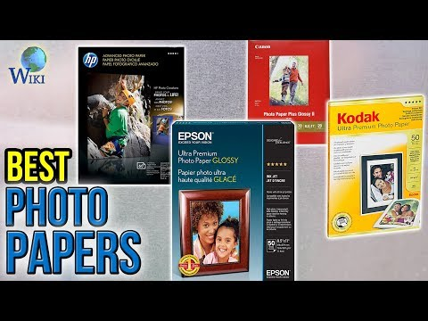 10 Best Photo Papers 2017