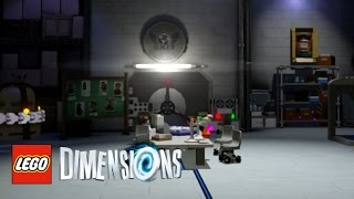 LEGO Dimensions - How To Find The Black Archive And All Easter Eggs