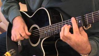 The Voyage, Christy Moore - fingerstyle guitar arrangement in DADGAD