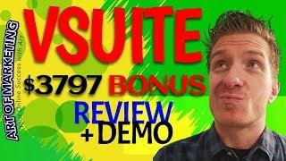 vSuite Review, Demo, $3797 Bonus, VSuite Review