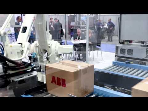 ABB IRB 460 Palletizing Robot at Pack Expo 2015
