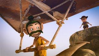 Око Леле -  11 серия - Первый полет - Смешной мультфильм - Kedoo Классные Мультфильмы