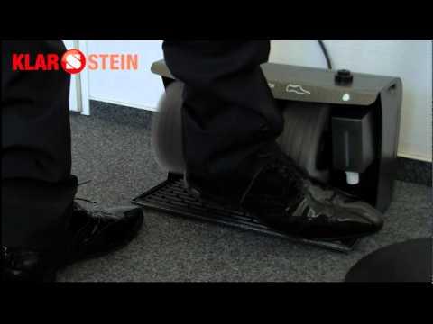 Schuhputzmaschine Klarstein SPO-17C Polierer 120W 10004346