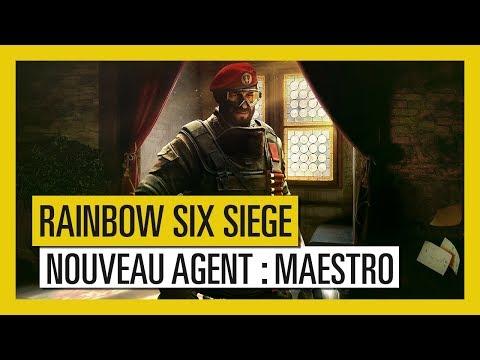Rainbow Six Siege – Para Bellum : Aperçu de l'Agent Maestro [OFFICIEL] VF HD