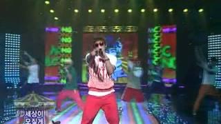MC Mong-Circus (엠시몽-서커스) @SBS Inkigayo 인기가요 20080511