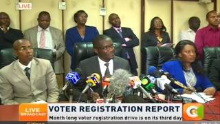 IEBC misses Day One voter registration target by a huge margin