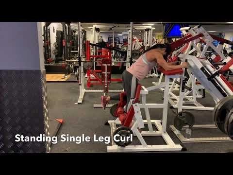 Single Standing Leg Curl 2.0