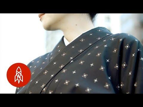 How the Humble Kimono is Made