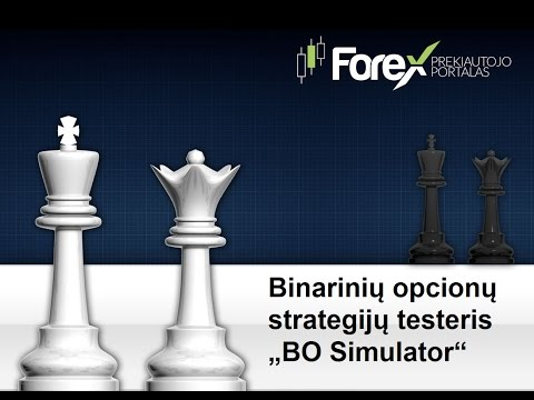 Box option prekybos strategija