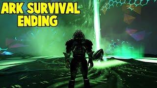 Ark Survival Evolved Tek Cave Ascension Alpha Ending