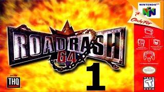 Road Rash 64 - Walkthrough - Part 1 - Black Stone Cold Has Arrived! - Video Youtube