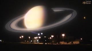 Parte II / Cómo Se Verían Los Planetas En Lugar De La Luna