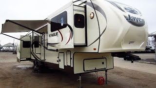 HaylettRV.com - 2015 Eagle 339FLQS Front Living Room Fifth Wheel by Jayco RV