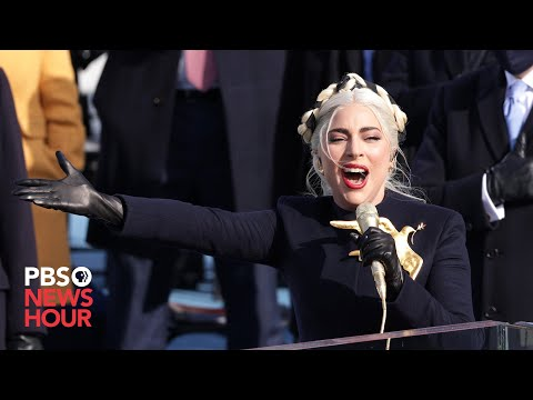 WATCH: Lady Gaga sings 'The Star Spangled Banner' at Biden inauguration