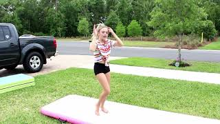 LEARN HOW TO DO A STANDING BACK TUCK IN 5 MINUTES AT HOME | GYMNASTICS FOR BEGINNERS