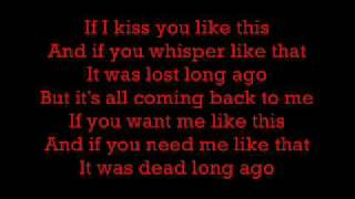 Celine Dion   Its All Coming Back To Me Now (Lyrics)