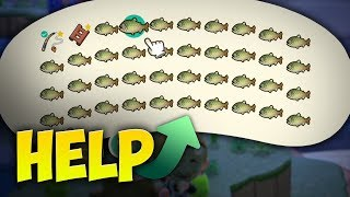Selling Off the Entire Stringfish Population for $570,000 in Animal Crossing New Horizons