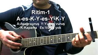 Gitar Dersi - Manuş Baba Etegi Belinde