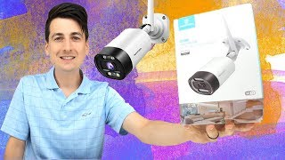 Outdoor Wireless Security Camera Review HeimVision HM211 Setup