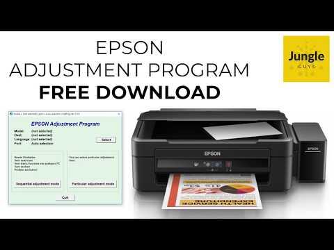 Descargar Gratis - Reset Epson (Adjustment Program Epson Reset