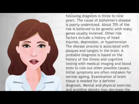 Video Alzheimer's disease - Wiki Videos