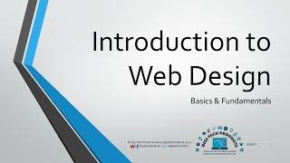 Introduction to Web Design - Fundamentals & Basics
