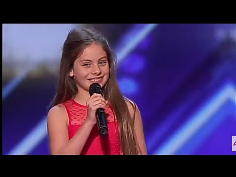 10 Year Old Singer Emanne Beasha Stuns With Nessun Dorma - America's Got Talent 2019