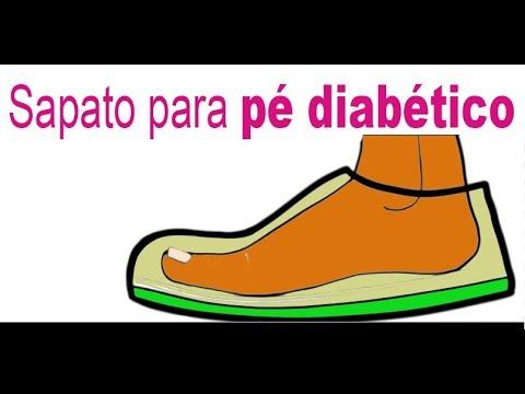 Calçados masculinos para diabéticos