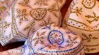 Thalankara thoppy - weaving the traditional Muslim caps