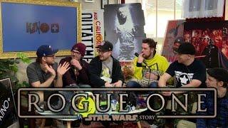 ROGUE ONE: A STAR WARS STORY Teaser Trailer | Rocket Beans Reaction Video | 07.04.2016