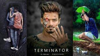 Picsart Terminator Manipulation movie poster photo Editing Tutorial | Royal Editing
