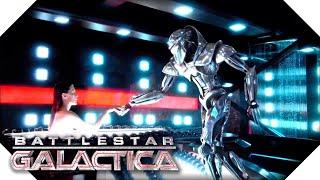 Battlestar Galactica | Ellen Tigh Is Plugged Back In