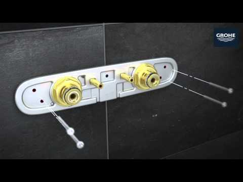 GROHE Rainshower SmartControl installation video