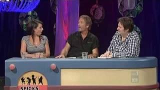 Steve Kilbey - Spicks and Specks TV (2010.08.18) part 1 of 2