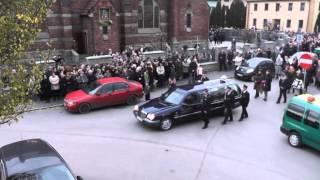 preview picture of video 'Orkiestra RYTM Zembrzyce 2014 - Pogrzeb ks. Józefa Ptaka'
