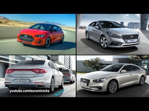 TOP 5 BEST HYUNDAI CARS 2019