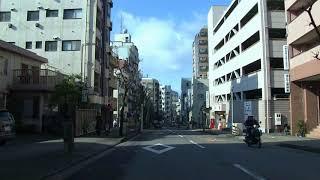 長崎市内ドライブ「愛宕からスタート」2018約9分