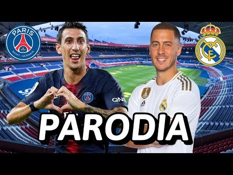 Canción Psg vs Real Madrid 3-0 (Parodia Atévete - Nicky Jam x Seach)
