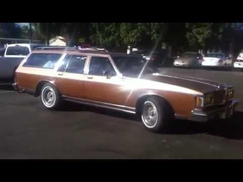 1988 Oldsmobile Custom Cruiser station wagon