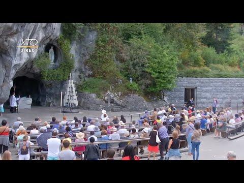 Chapelet du 5 septembre 2020 à Lourdes