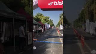 Eğirdir Olimpik mesafe Triatlon yarışı bitiş anı