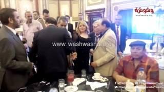 وشوشة | نجوم مسلسلات رمضان في حفل زفاف نجل الفنان صبري عبدالمنعم  |Washwasha