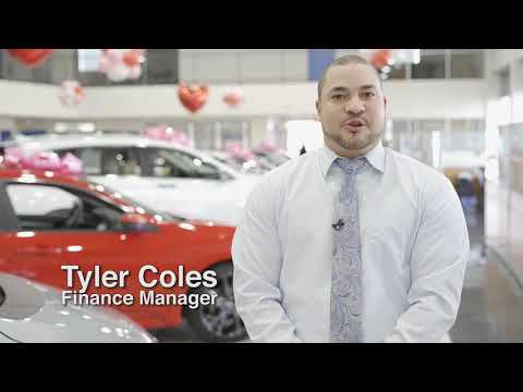 Finance Manager Tyler Coles